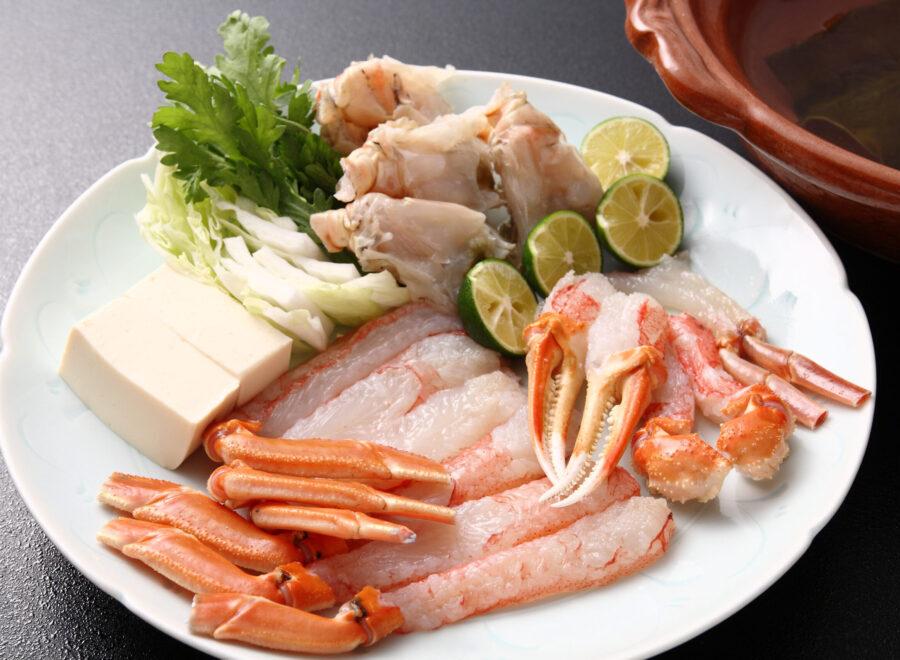 秋冬のお鍋その一 -松葉蟹のお鍋-
